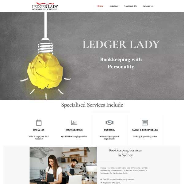 Ledger Lady